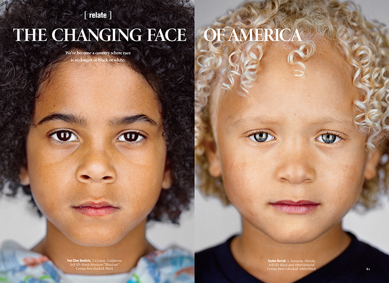 changing the face of america